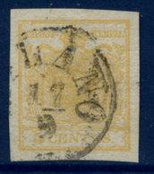 LOMBARDY VENETIA  ( Lombardei U. Venetien) 1850 Arms 5 C.Type I .  Michel 1X - 1850-1918 Empire