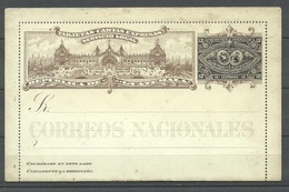 GUATEMALA 1897 Kartenbrief Local Postal Stationary - Guatemala