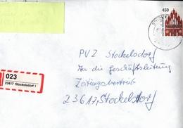 ! 1 Einschreiben , Selbstklebender R-Zettel Aus Stockelsdorf, 23617, Schleswig-Holstein - BRD