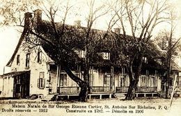 CANADA - QUEBEC - SAINT ANTOINE SUR RICHELIEU, Maison Natale De Sir George Etienne Cartier - RPPC - Other