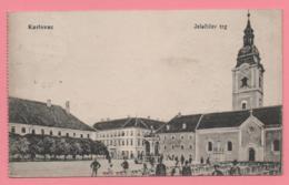 Karlovac - Jelacicev Trg - Croazia