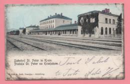 Bahnhof St. Peter In Krain - Slovenia
