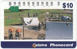 AUSTRALIA A-484 Optical Telstra - Communication, Phone Booth - Used - Australia