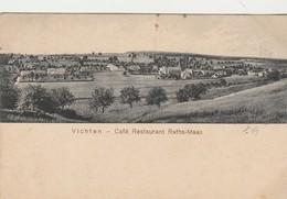 Vichten - Café - Restaurant  Kaths-Maas  , Panorama ( Edit : Edm.  Hansen ,Mersch ) - Cartes Postales