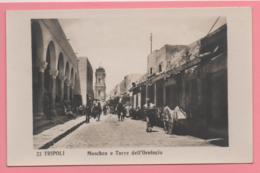 Tripoli - Moschea E Torre Dell'Orologio - Libia