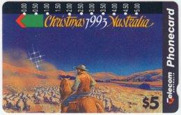 AUSTRALIA A-635 Optical Telecom - Occasion, Christmas - Used - Australia
