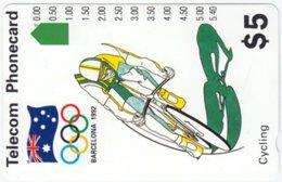AUSTRALIA A-695 Optical Telecom - Event, Sport, Olympic Games - Used - Australia
