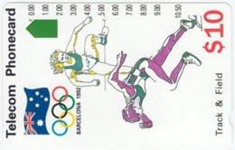 AUSTRALIA A-696 Optical Telecom - Event, Sport, Olympic Games - Used - Australia