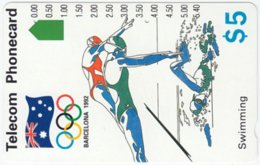 AUSTRALIA A-697 Optical Telecom - Event, Sport, Olympic Games - Used - Australia