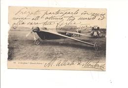 P171 TRASPORTI AVIAZIONE AEROPLANO ESMAUL PELTERIE 1908 VIAGGIATA LIEVE DIFETTO - ....-1914: Precursori