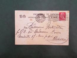 42080 STORIA POSTALE ITALIA 1930 - Marcophilie