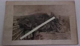 1915 Vosges 39 Eme Régiment D'infanterie Territoriale Tranchée De Combat Secteur 56 Poilus 1914 1918 WW1 14/18 1WK - Guerra, Militari