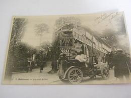 C.P.A.- Robinson (92) - Automobile Au Carrefour Du Vrai Arbre - 1904 - SUP (BY 2) - Otros Municipios