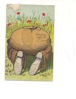 P175 UMORISTICA AGM 1903 VIAGGIATA - Humor