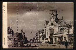 Nagyszalonta Varoshaza  Romania Orszag Zaszlo Real Photo AK Ca1900 POSTCARD (W5_309) - Rumänien