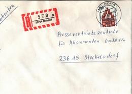 ! 1 Einschreiben 1994,  R-Zettel Aus Meldorf, 25704, Schleswig-Holstein - BRD