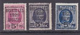 Belgie COB° 273-275 - Gebruikt