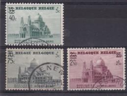 Belgie COB° 481-487 - Oblitérés