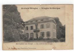 St-Joris Winghe - Het Kasteel Van Gempe - Winghe St-Georges - Le Château De Gempe(kaart Vertoont Slijtage,zie Scans) - Tielt-Winge