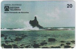 BRASIL H-631 Magnetic Telebras - Landscape, Coast - Used - Brazil