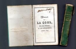 """Sam - Almanach De La Cour, De La Ville Et Des Départements"""", Année 1829, Paris, Louis JANET - Rare - 1801-1900"""