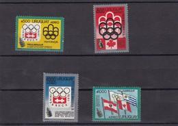 Uruguay Nº Michel 1350 Al 1353 - Uruguay