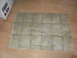 Old Mam Slovenija Italy, Austria Big Format Bohinj, Pokljuka,Karnske Alpe,Kamniskw Planine,Karavanke...... - Geographical Maps