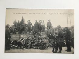 AK Guerre De 1914 Debris De La Bataille De La Marne Gare Station De La Fere-Champenoise Fere Champenoise - Guerre 1914-18