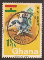 GHANA. POSTMARK NIMA. 1 ½Np USED - Ghana (1957-...)
