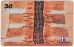 BRASIL I-722 Magnetic Telemar - Culture, Native Art - Used - Brazil