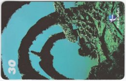 BRASIL I-726 Magnetic Telemar - Animal, Sea Life, Coral - Used - Brazil