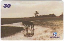 BRASIL I-732 Magnetic Telemar - Animal, Horse - Used - Brazil