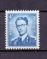926a Boudewijn Met Bril 4fr.grijsblauw POSTFRIS** 1953 - 1953-1972 Anteojos
