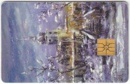 CZECH REP. C-688 Chip Telecom - Painting, Culture, Church - Used - Czech Republic