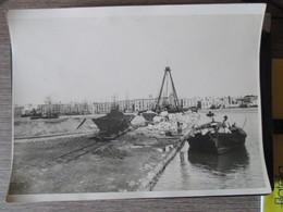 Trapani / Lavori Portuali / Costruzione Banchine / Anni 30 - Fotografia