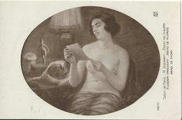 Salon De Paris  / M. Everart / Envoi De Fleurs - Peintures & Tableaux