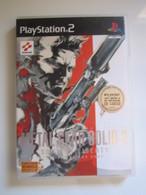 Jeu: PS2 METAL GEAR SOLID 2 - Sony PlayStation