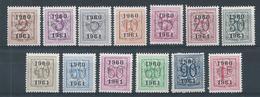 PRE 53  (699/711) **       Cote 33.00 - Typo Precancels 1951-80 (Figure On Lion)