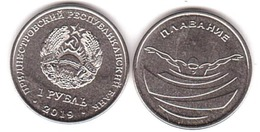 Transnistria - 1 Ruble 2019 UNC Swimming Lemberg-Zp - Moldavia