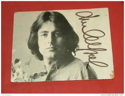 CHANTEURS -  MICHEL  DELPECHE  -   (carte Signée Par L'artiste) - Musique Et Musiciens