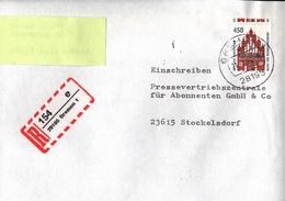 ! 21 Einschreiben Dabei 11x Mit Rückschein, 1993-1997 Mit R-Zetteln Aus Bremen, 28195, 28217, 28237, 28259, 28277, 28359 - BRD