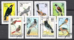 VIETNAM 1978 MI.NR.948-955 Vögel  USED / GEBRUIKT / OBLITERE - Vietnam