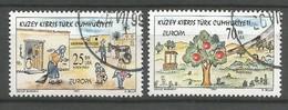 Türkisch-Zypern 1997  Mi.Nr. 449 / 450 , EUROPA CEPT Sagen Und Legenden - Gestempelt / Fine Used / (o) - Europa-CEPT