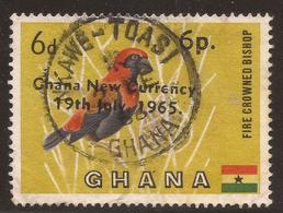 GHANA. POSTMARK. NKAWE TOASI. 6d USED - Ghana (1957-...)