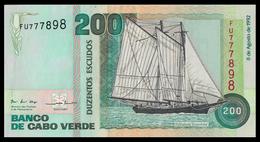 # # # Banknote Kap Verden (Cape Verde) 200 Escudos 1992 UNC # # # - Cape Verde