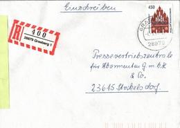 ! 1 Einschreiben 1994 Mit  R-Zettel Aus 28879 Grasberg - BRD