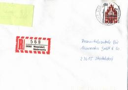 ! 1 Einschreiben 1994 Mit  R-Zettel Aus 29392 Wesendorf - BRD