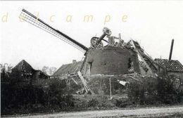 TORHOUT (W.-Vl.) - Molen/moulin - De Ruïne Van De Bonjourtjesmolen In 1918, Vernield Door De Duitsers - Torhout