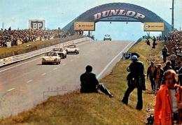 24H Du Mans - Course Automobile - Circuit - CACHET 1973 - Passerelle Dunlop - Voitures De Course - éditeur Jipé N°6 - Le Mans