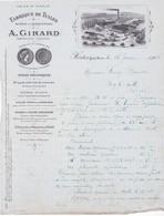 52-A.Girard..Fabrique De Tuiles.. Hortes...(Haute-Marne)...1941 - Autres